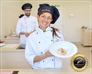 Student in Cooking School