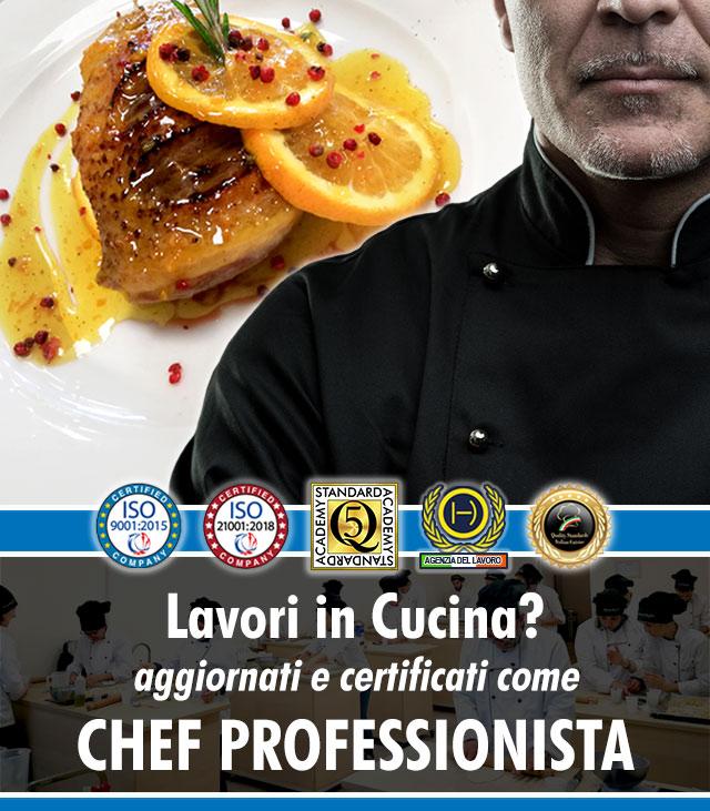 Corso di Chef a Firenze