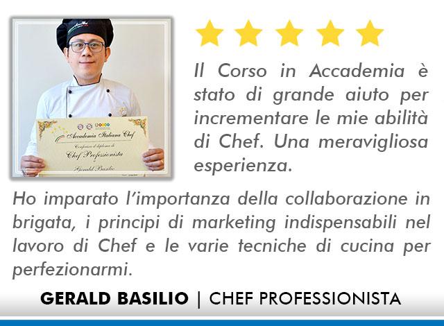 Corso Chef a Firenze Opinioni - Basilio