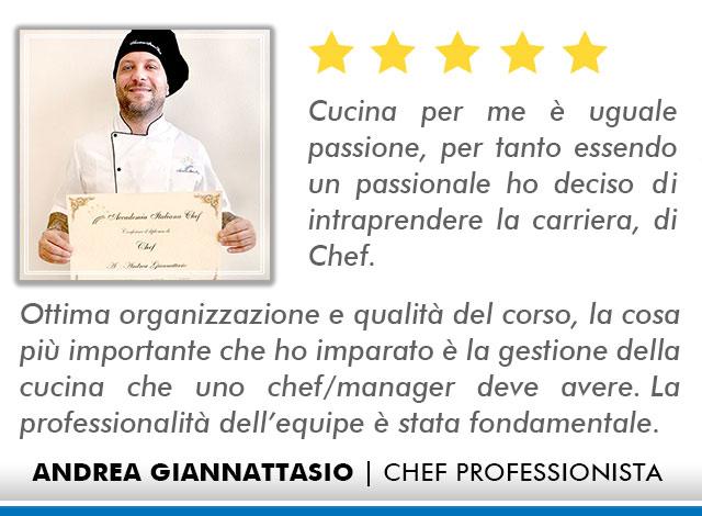 Corso Chef a Firenze Opinioni - Giannattasio