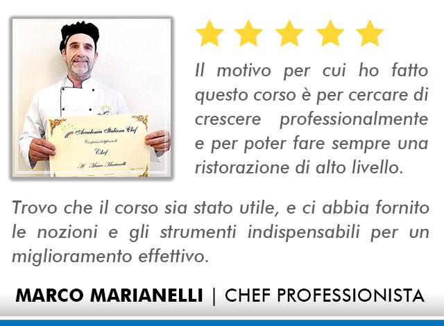 Corso Chef a Firenze Opinioni - Marianelli