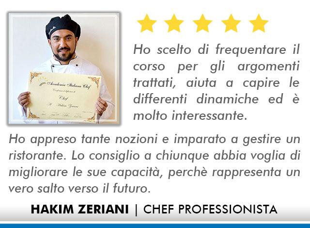 Corso Chef a Firenze Opinioni - Zeriani