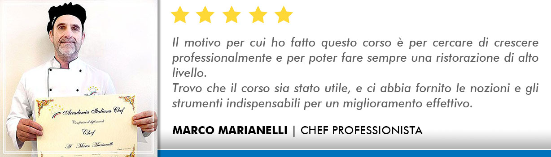 Corso Chef a Firenze Opinioni -Marianelli