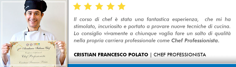 Corso Chef a Firenze Opinioni - Polato