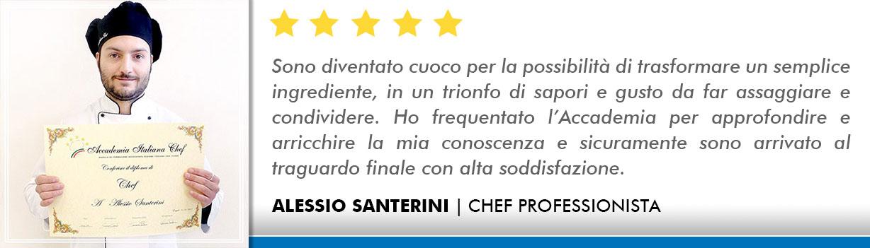 Corso Chef a Firenze Opinioni - Santerini