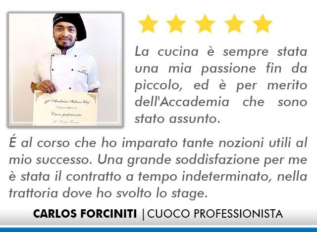 Corso Cuoco a Firenze Opinioni - Carlos
