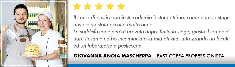 Corso Pasticcere a Firenze Opinioni - Anoia-Mascherpa