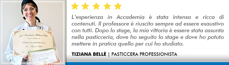 Corso Pasticcere a Firenze Opinioni - Bellè