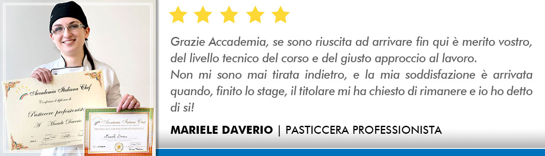 Corso Pasticcere a Firenze Opinioni - Daverio