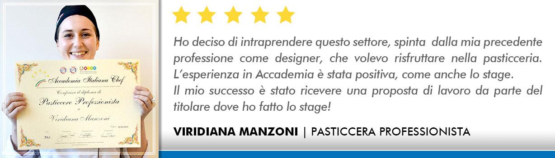 Corso Pasticcere a Firenze Opinioni - Manzoni