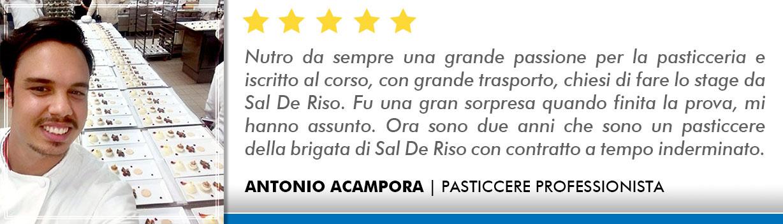 Corso Pasticcere a Firenze Opinioni - Acampora