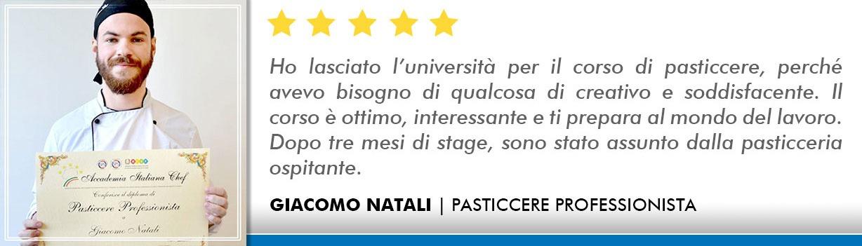 Corso Pasticcere a Firenze Opinioni - Natali