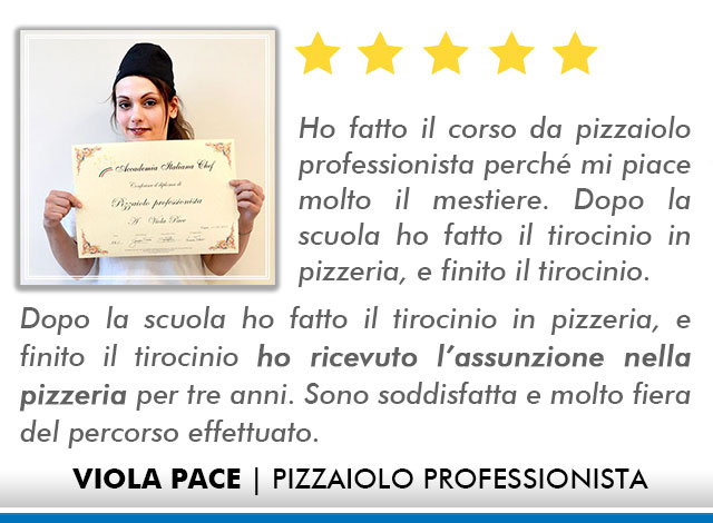 Corso Pizzaiolo a Firenze Opinioni - Pace