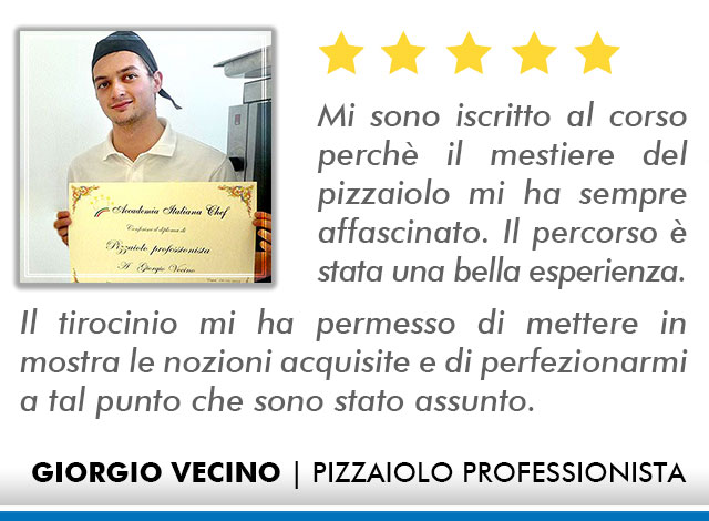 Corso Pizzaiolo a Firenze Opinioni - Vecino