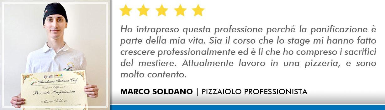 Opinioni Corso Pizzaiolo Firenze - Soldano