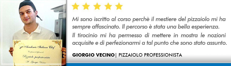 Opinioni Corso Pizzaiolo Firenze - Vecino