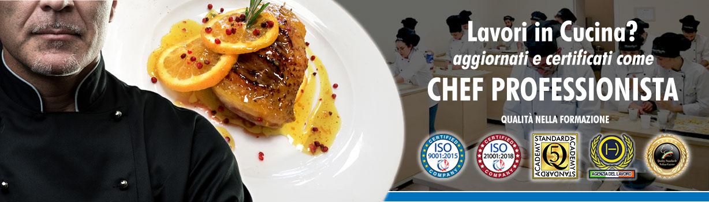 Corso di Chef Professionista a Firenze